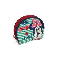 Monedero de Minnie Cherry. Pensado para guardar monedas y que los más pequeños empiecen a ahorrar. En www.tinoytina.com