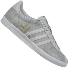 wholesale dealer 6d942 d5892 Adidas originals gazelle og damen sneaker off white wild leder schuhe hell  grau