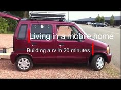 Living in a mobile home 20, Building a rv in 20 minutes! - YouTube