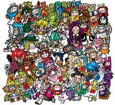 japanese graffiti art - Google Search