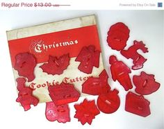 We had these and I made dozens of frosted sugar cookies.
