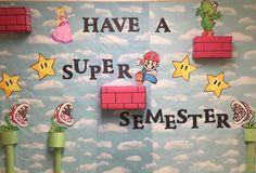 Super Mario Bulletin Board