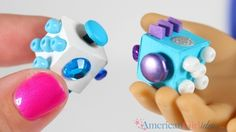DIY American Girl Doll Fidget Cube The mini Fidget Cube was almost as highly requested as the fidget spinner! These things are crazy popular right now and you know our dolls always want to follow the trend. I thought about using a dice for the cube but then realized I couldn't poke anything through it. …