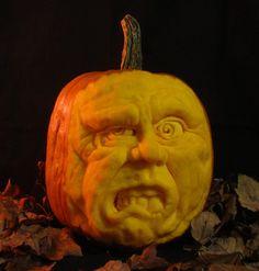Pumpkin Sculpture / Carving by Jeff Brown