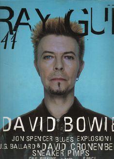 raygun magazine cover   David Bowie