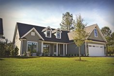 Coastal styled homes are easy to find in Park Landing at Brunswick Forest! Coastal Cottage, Coastal Homes, Coastal Living, Best Places To Vacation, Covered Front Porches, Nc Real Estate, Family Room, Shed, Outdoor Structures