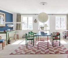 White Space, Joyful, Color Pop, Homes, Flooring, Contemporary, Home Decor, Colour Pop, Houses