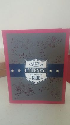 Stampin Up One Wild Ride Stamp Set! careyne06@blogspot.com