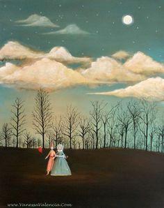 Through the Trees (Vanessa Valencia)