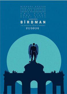 #6 Birdman (2014), Alejandro González Iñárritu  International city poster, Birdman, Fox Searchlight UK. iL #birdman #movies