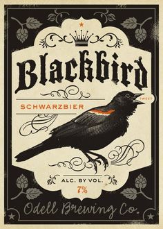 Blackbird. #beer #beerlabels