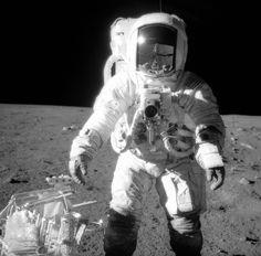 El astronauta Alan L. Bean en el Océano de las Tormentas. Nasa