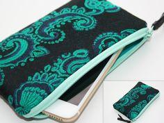 iPhone 6 sleeve-iPhone 6 cover-iPhone 6 case-iPhone 6 hoes-iPhone 6 cell-iPhone 6-iphone case- Smart Phone Case/Linen case Monogram case door TASAMA op Etsy