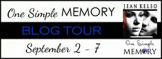 Author Sandra Love: One Simple Memory by: Jean Kelso Blog Tour