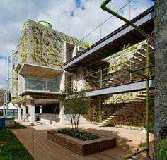 Arquitetura Verde: O Edifício Harmonia 57 - Admirável verde vivo | Fórum da Construção