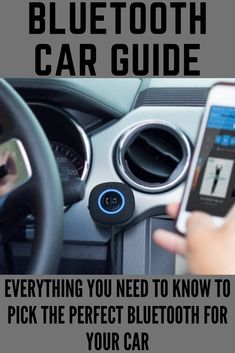 Everything you need to know to pick the perfect bluetooth for your car Car Guide, 1st Anniversary Gifts, Car Bluetooth, Car Car, Need To Know, Everything, First Anniversary Gifts