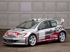 ra Peugeot 206 WRC (2001).