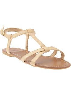Old Navy Cross-Front Sandals $20