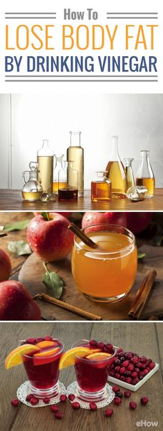 A recent study found that drinking vinegar was enough to trigger significant weight loss and lower belly fat levels, even in people who drank just a half-ounce a day. And apple cider vinegar also even helps keep your stomach full for longer after a meal, which combats hunger pangs, a study found. More info here: http://www.ehow.com/how_6367305_lose-body-fat-drinking-vinegar.html?utm_source=pinterest.com&utm_medium=referral&utm_content=freestyle&utm_campaign=fanpage