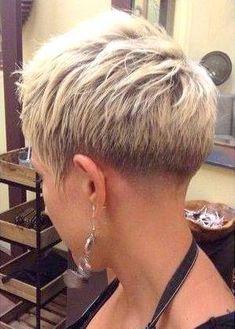 Opinions of her cut? Girls Short Haircuts, Cute Hairstyles For Short Hair, Short Hair Cuts For Women, Short Curly Hair, Pixie Hairstyles, Curly Hair Styles, Super Short Hair, Her Cut, Hair Dos