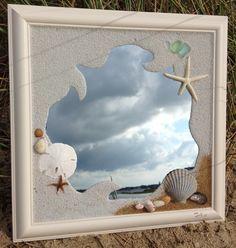 window art mirror art cape cod sea glass windows