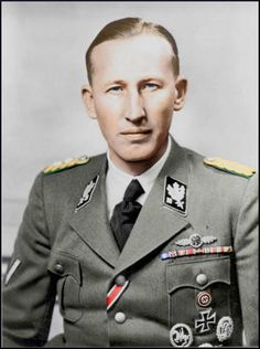 Heinz Siegfried Heydrich was the son of Richard Bruno Heydrich and the younger brother of SS General Reinhard Heydrich. After the death of his brother, He