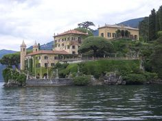 Villa del Balbianello on Lake Como, Lombardy Region, Northern Italy
