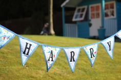 Celebrating a wedding, new baby, anniversary or birthday? View our flag and bunting gallery