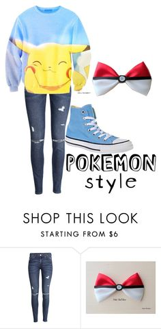 Untitled #236 by blueflower369 on Polyvore featuring H&M and Converse
