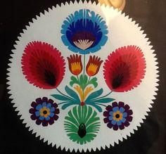 "Polish Paper Cutting in Vintage Frame Wycinanki 9"" x 11 5"" | eBay"