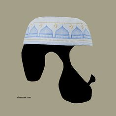 7334efb91c5 Men s Solid Kufi with Embroidery me589 -. Muslim WomenIslamic