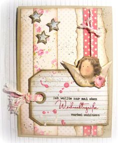 Another Tilda-collection-card love the color combo