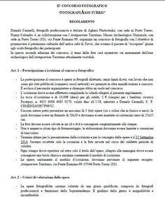 Regolamento, pag. 1