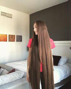 Beautiful Long Hair, Gorgeous Hair, Pretty Hairstyles, Straight Hairstyles, Long Hair Drawing, Really Long Hair, Long Brown Hair, Pinterest Hair, Long Braids