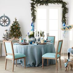 decked-out dining table #HorchowHoliday14
