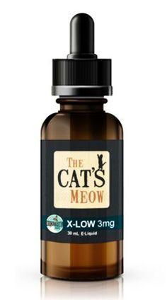 Rocket Fuel Vapes The Cat's Meow E-Juice Flavor | COCONUT COOKIE CREAM DESSERT