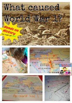 How did World War 1 start? an interactive map lesson History Class, Us History, American History, Middle School Drama, Middle School Classroom, Ww1 Display, Gallipoli Campaign, General Knowledge Facts, Interactive Map
