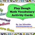 Interacting, Engaging, Fun!  There are 109 Task Cards perfect to use with Pre-K, Kindergarten, ELL, and Special Needs children when learning Math V...