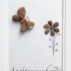 """The little butterfly"" showing nature's beauty with nature #agifttorememberart #pebbleart #artwork #handmade #makersgonnamake #etsy #etsyseller #australia #flower #butterfly #nature #frame #beautifulart #recycledart #beachdecor #beach #roomdecor #giftideas #madebyme #craft #instaart #interiordesign #roomdecor #instaphoto #photooftheday #stones #pebbles"