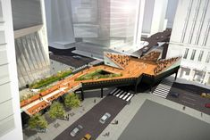 expansion of high line in new york
