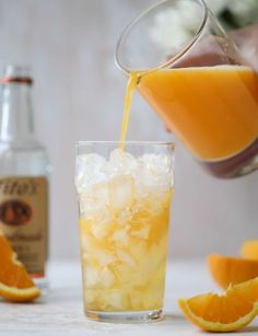 Orange Crush | howsweeteats.com #orangecrush #drink