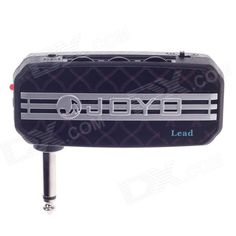 Amplifier and loud speaker functions - Mini guitar amplifier; MP3 input jack: 3.5mm; Earphone input jack: 3.5mm; - Effect: Clean / distortion; Power indicator http://j.mp/1lkydbK