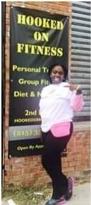 One of our BFFs reppin' Hooked on Fitness!  Gotta love her! #HookedOnFitness #GroupFitness #PhillyPersonalTrainer Another shot from #HookedOnFitness