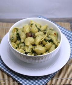 Simple Spinach & Sausage Pasta - www.thisgalcooks.com 2 wm