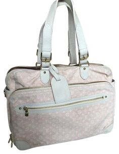 6a79ad4acb42 Louis Vuitton Mini Lin Pink Monogram Diaper Bag on Sale