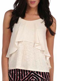 Veronica M Ruffle Top on shopstyle.com