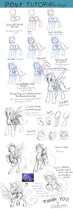 Pony Tutorial - My Style (English/Castellano) by PegaSisters82.deviantart.com on @DeviantArt