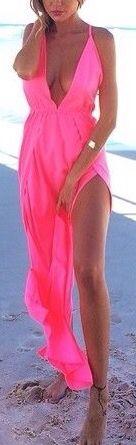Pink beach maxi, so perfect