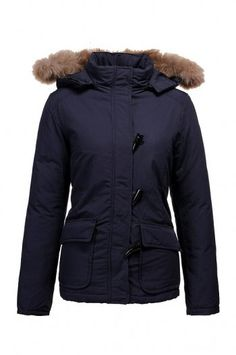 Parka Woolrich Blizzard Giacca Donna Navy