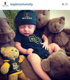Sweet #Baylor Baby!